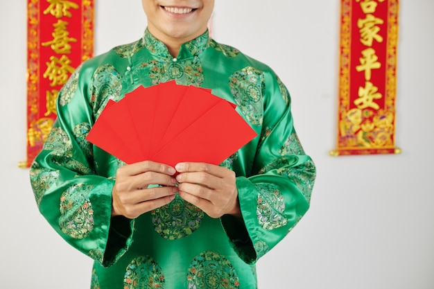 Envelopes for lunar new year celebration