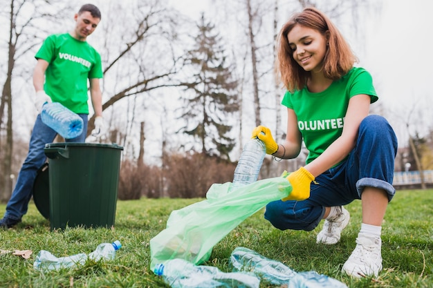 환경과 자원 봉사 개념