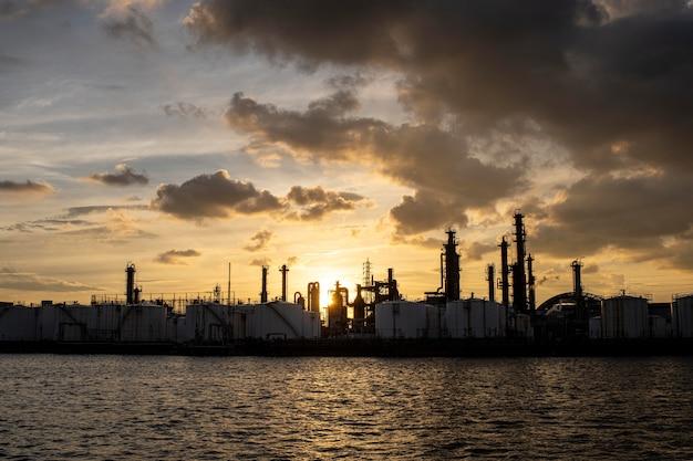 환경 오염 및 산업 외관