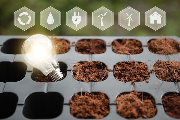 環境に優しく持続可能なエネルギーオプション再生可能な持続可能なエネルギー源