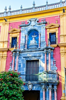 Епископальный дворец малаги, андалусия, испания