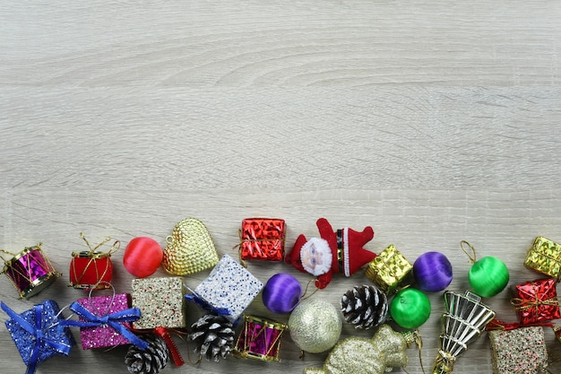 Equipment for christmas decoration.