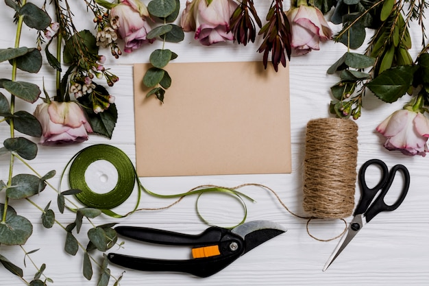 Equipment for floristry