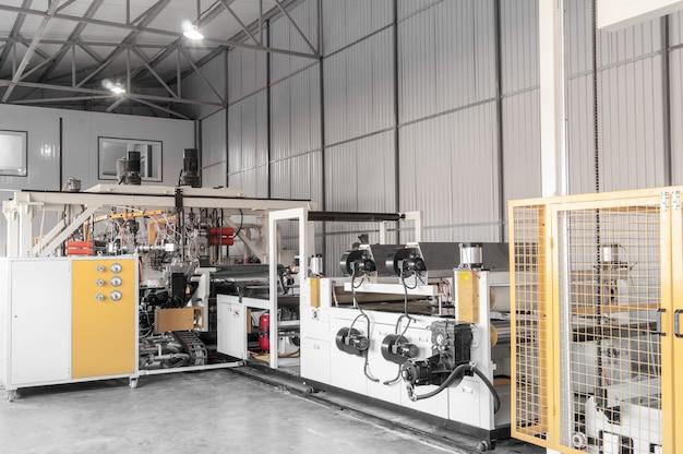Оборудование для производства и изготовления прочного полиэтилена и полипропилена для упаковки.