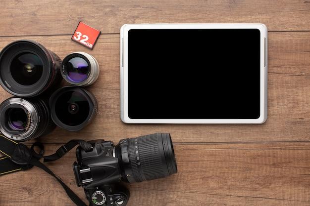 写真家の機材