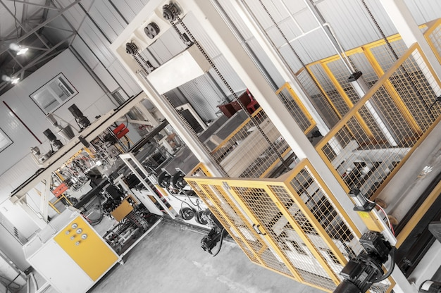 Equipment for the production and fabrication of durable polyethylene and polypropylene for packaging