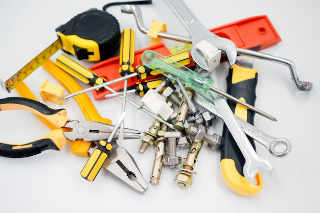 Equipment, tools and materials used in construction