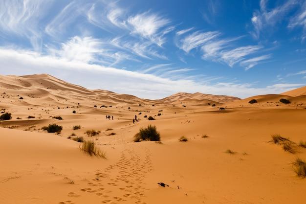 モロッコのerg chebbi