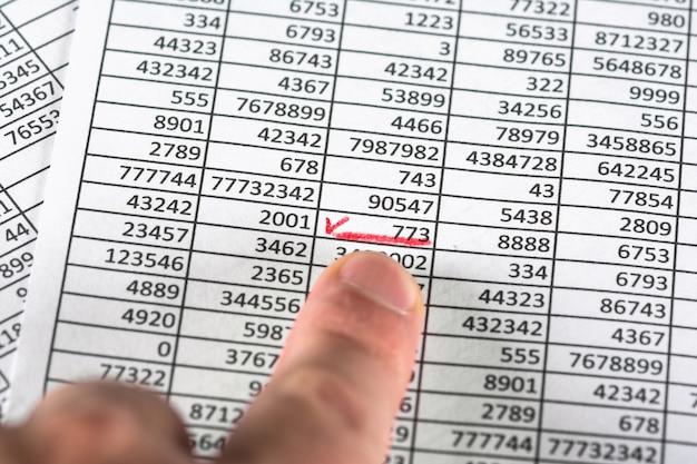 Error correcting in document