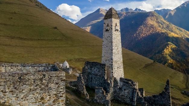 Комплекс башен эрзи в ингушетии россия комплекс старинных каменных башен