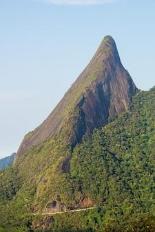 Escalavrado, imposing mountain located in the teresopolis mountain range in rio de janeiro.