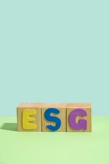 책임 투자 회사 검증의 esg 환경 사회 거버넌스 원칙