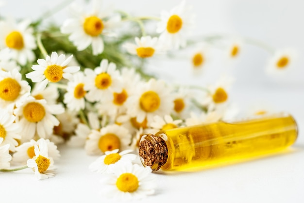 Essential aroma oil with camomile