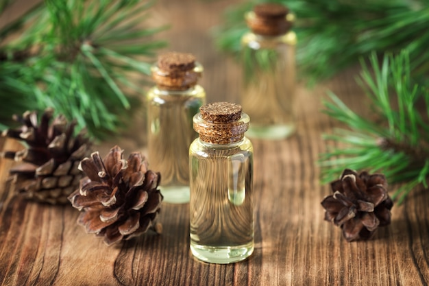 Essential oil of pine and spruce