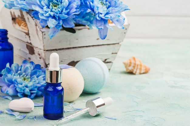 Essential oil for spa treatment
