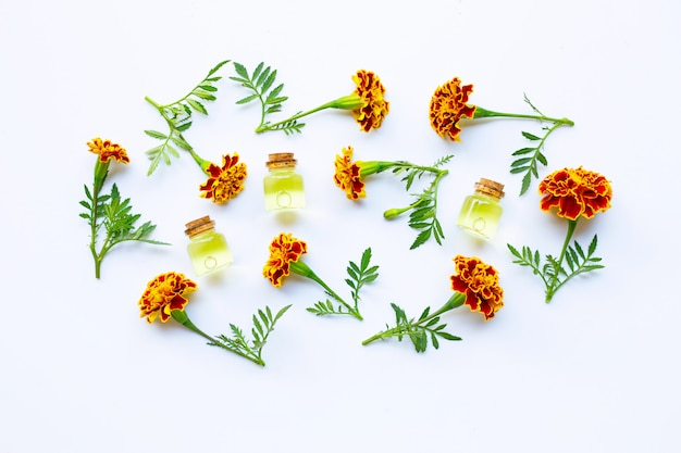 Essential oils of marigold flower