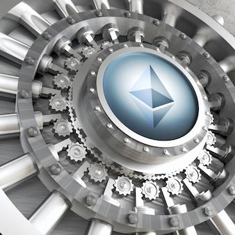 Ethereum cryoto vault