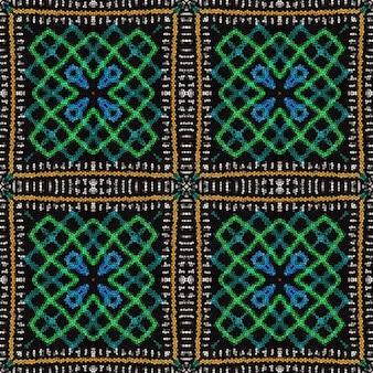 민족 장식. 다채로운 모자이크 배경입니다. 완벽 한 패턴입니다.