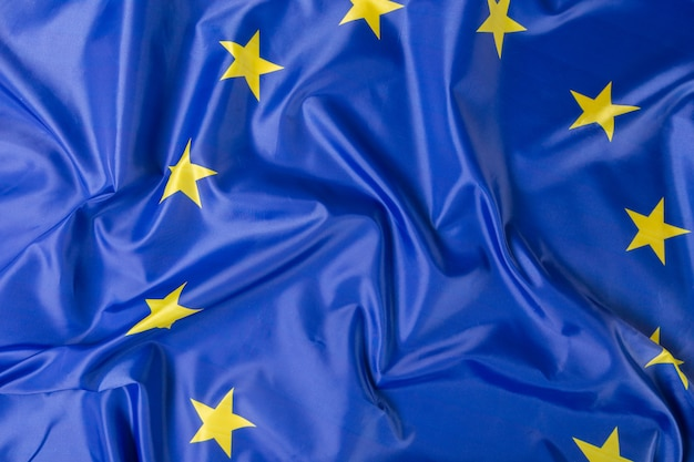 欧州連合eu旗の背景