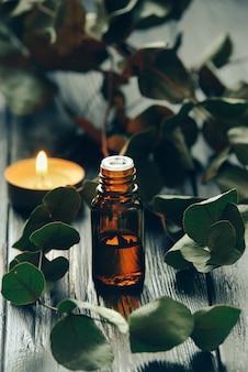 ユーカリ油とユーカリの葉