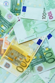 Euro cash background