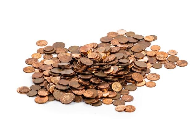 Euro cent coins