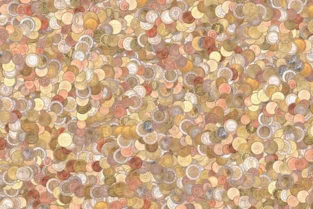 ユーロ硬貨の背景