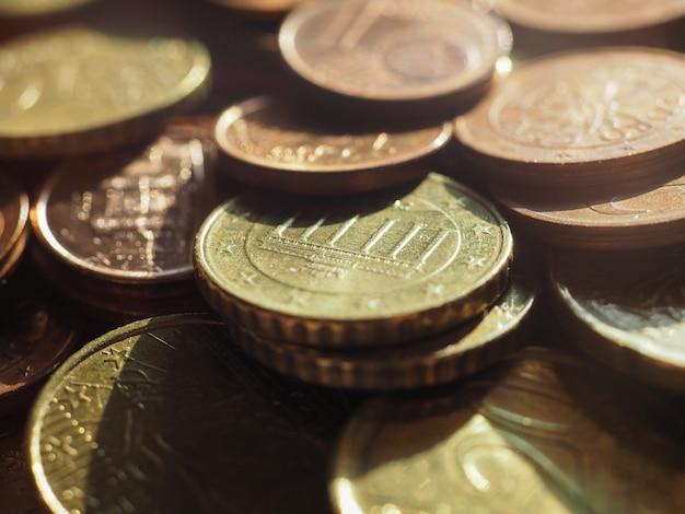Монеты евро, европейский союз