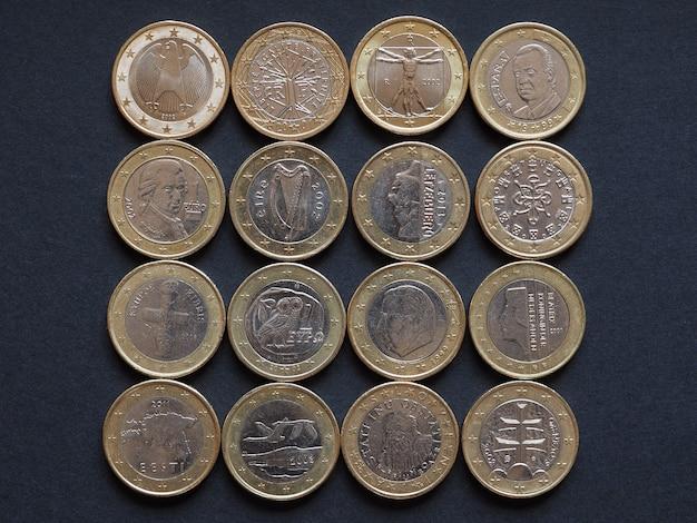 Евро монеты многих стран