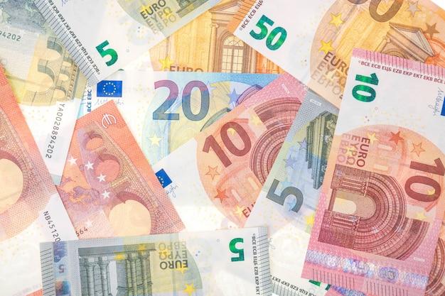 Евро валюта фон