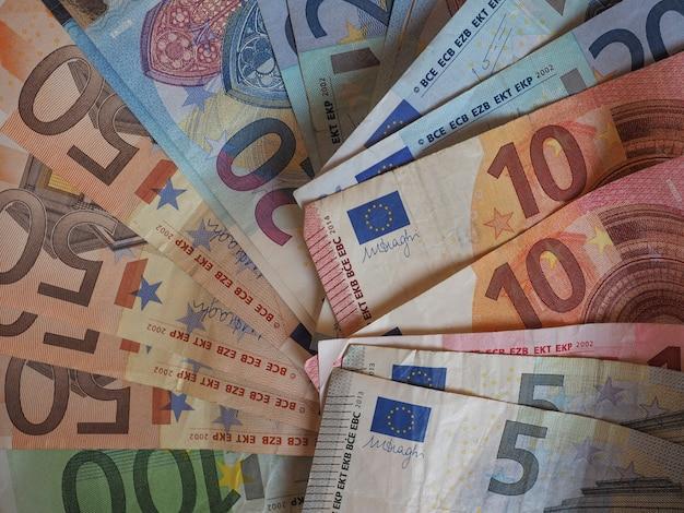 ユーロ(eur)紙幣と硬貨、欧州連合(eu)