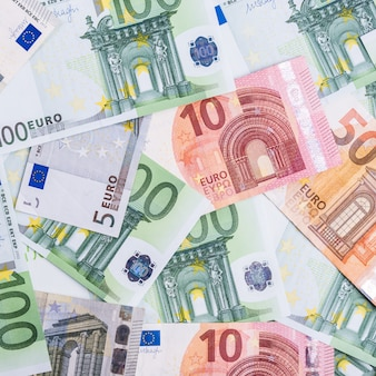 Euro money. euro cash background. euro money banknotes.