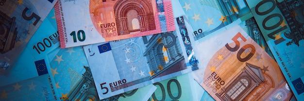 Euro money. euro cash background