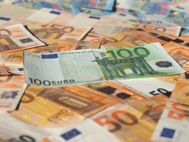 Банкноты евро, европейский союз
