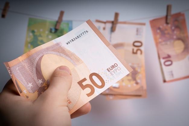 ヨーロッパの通貨、紙幣。ビジネスと金融。ヨーロッパの経済と銀行。