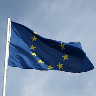 European flag of europe