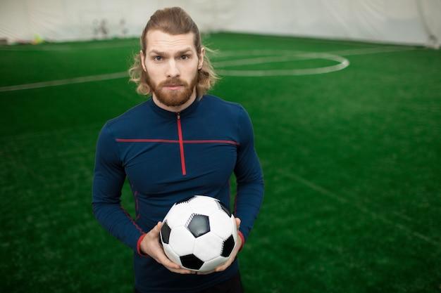 European football trainer or coach