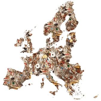 European mechanical map