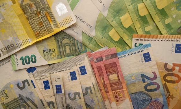 Euros notes europe money photography.