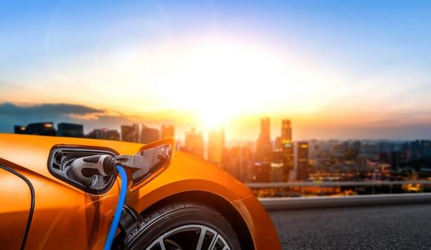 Зарядная станция для электромобилей в концепции экологически чистой энергии и экологической энергии