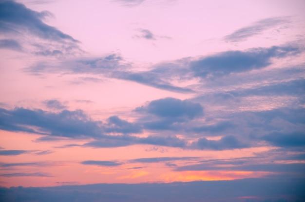 저녁 하늘 배경 패턴 흐리게