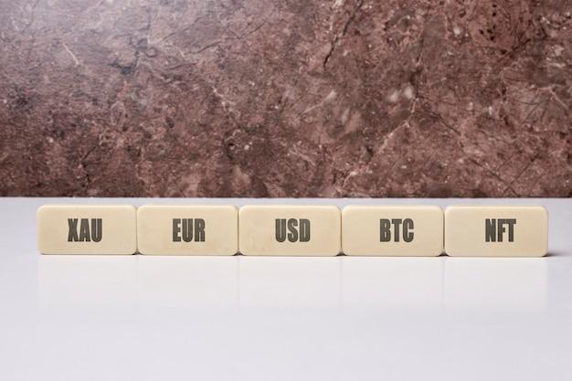 Эволюция криптотехнологий xau eur usd btc и nft