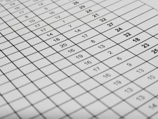 Excelスプレッドシートのデータ