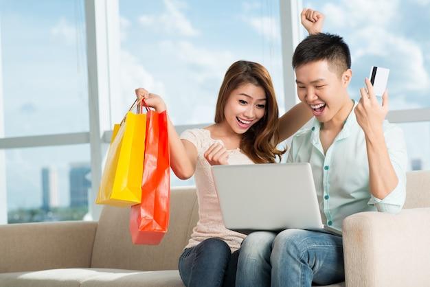 Волнение шоппинга