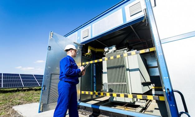 電力変圧器の電気測定作業の実行