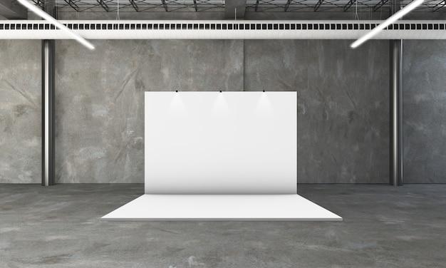 Выставочный стенд 3d рендеринга