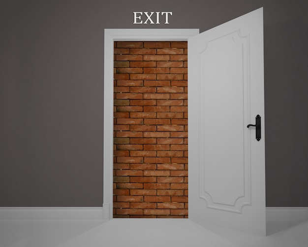 Exit obstructed by a job without opportunities