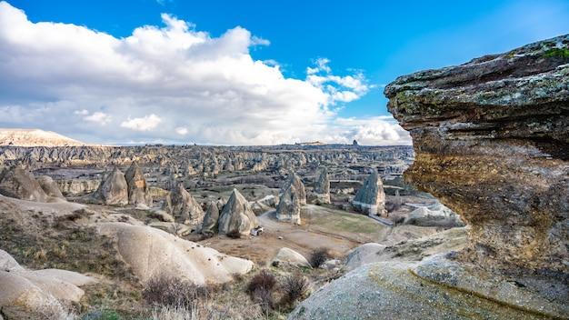 Exotic cappadocia landscape in turkey