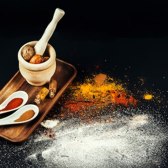 Exotic oriental spices