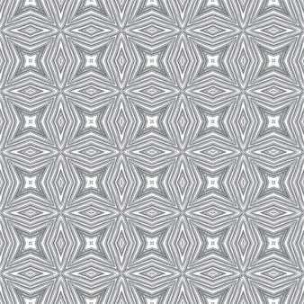 Exotic seamless pattern. black symmetrical kaleidoscope background. summer swimwear exotic seamless design. textile ready sublime print, swimwear fabric, wallpaper, wrapping.